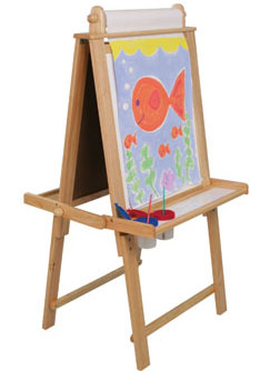 Children's Art Easel Plans
