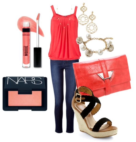Fun Girls Night Out Outfit