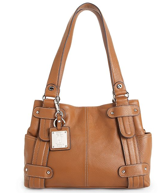 Tignanello Handbag, Perfect 10 Leather Studded Shopper