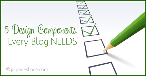 5-design-components-every-blog-needs