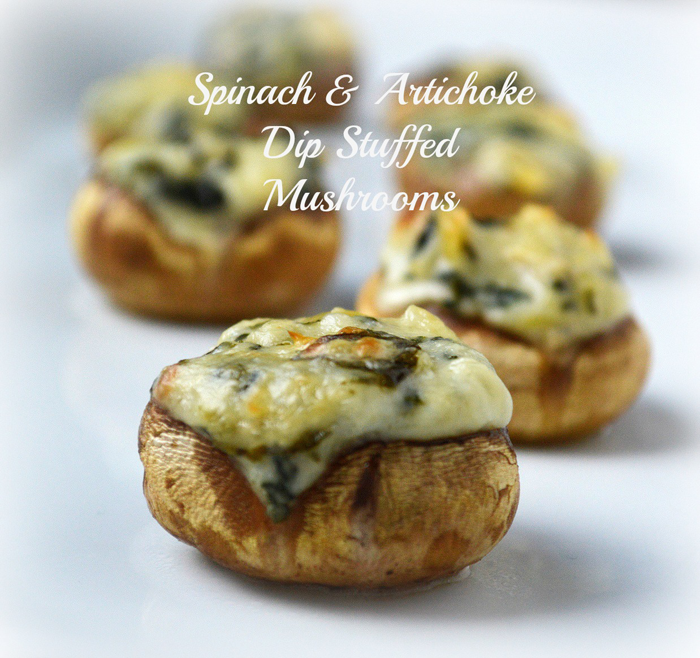 Mushrooms-Stuffed-with-Spinach-Artichoke-Dip-text