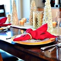 target christmas table setting