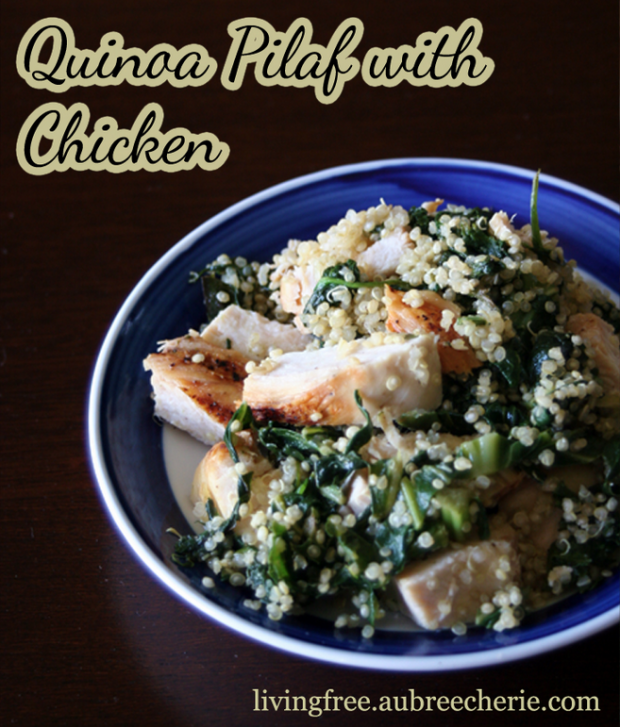 Quinoa Pilaf With Chicken