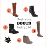 Must-Have Boots for Fall 2014