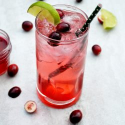 Vodka Cranberry Spritzer