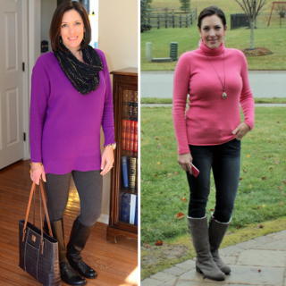 Fashion Over 40: Casual Winter Outfits for Moms