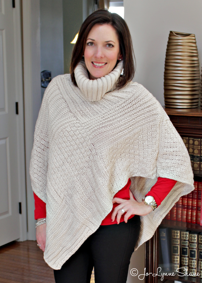 Fashion Over 40: How to Wear a Poncho
