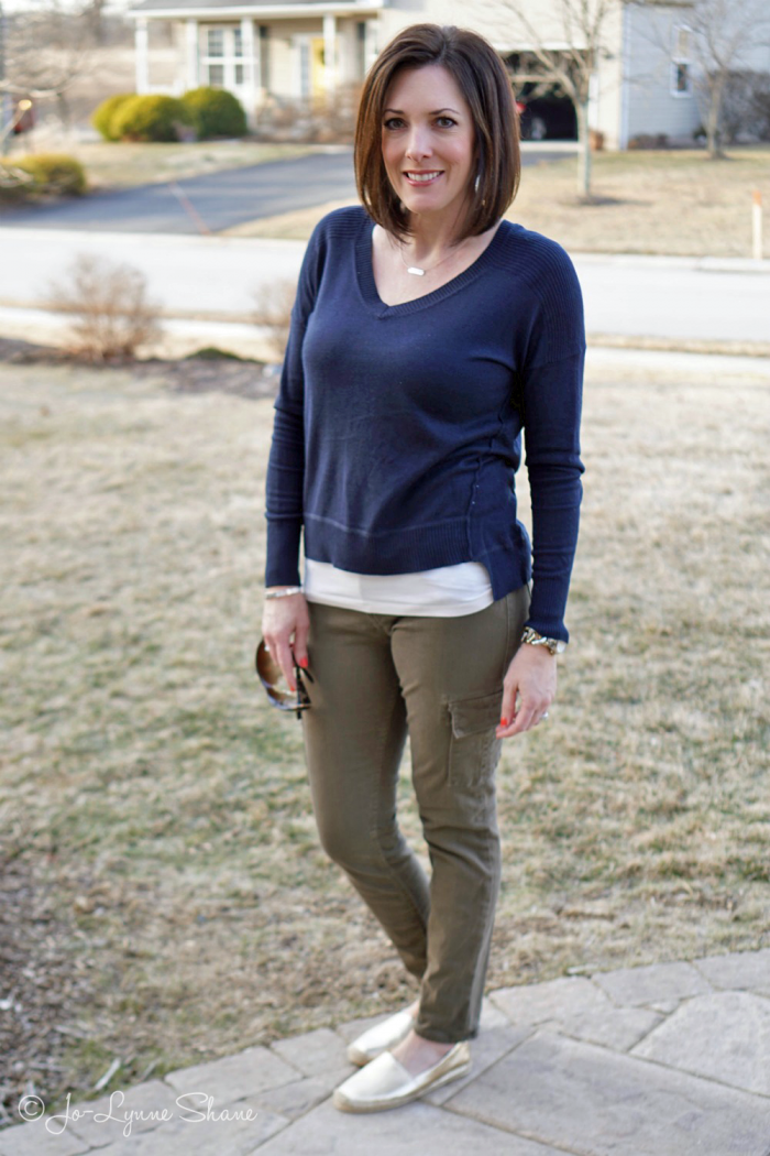 Fashion Over 40: Early Spring Outfit