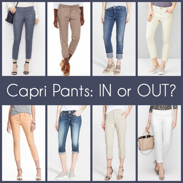 Fashion for Women Over 40: Capri Pants vs Cropped Pants and everything in between!