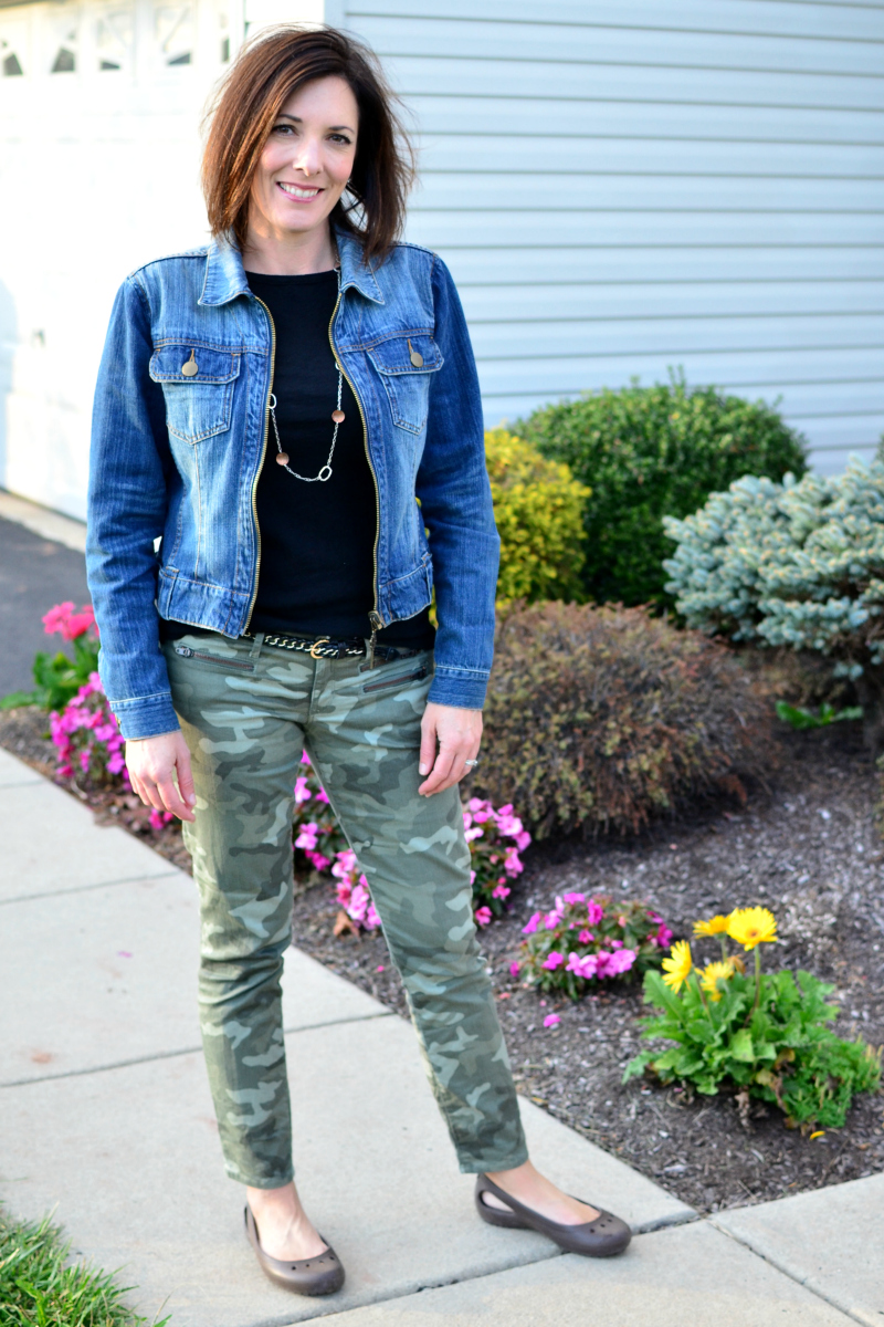 How to Wear a Denim Jacket: 10 fashion bloggers share their tips for styling this wardrobe essential.