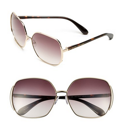 MARC BY MARC JACOBS 61mm Vintage Inspired Oversized Sunglasses