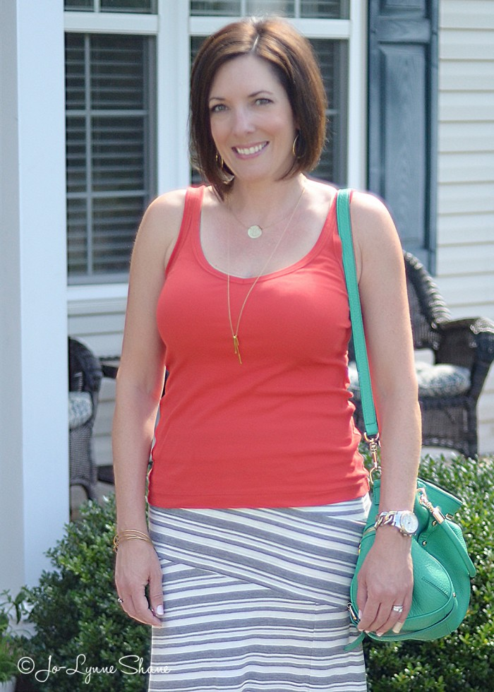 Fashion Over 40: Easy Maxi Skirt for Summer
