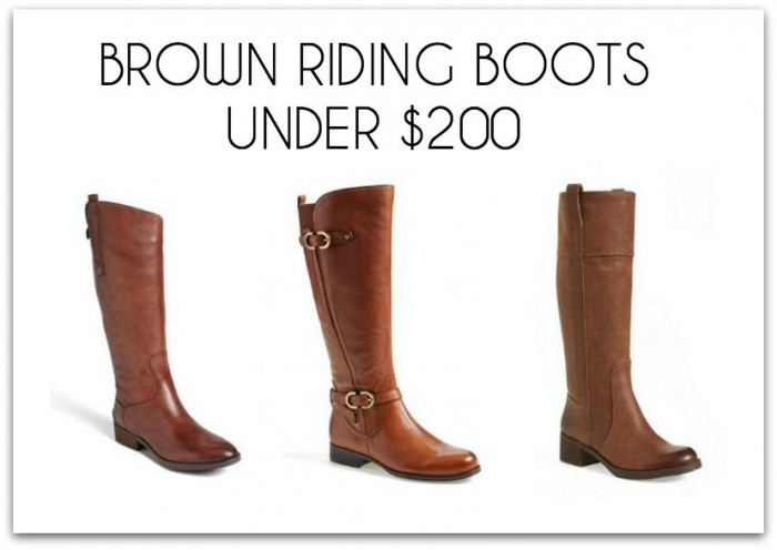 moderate riding boots