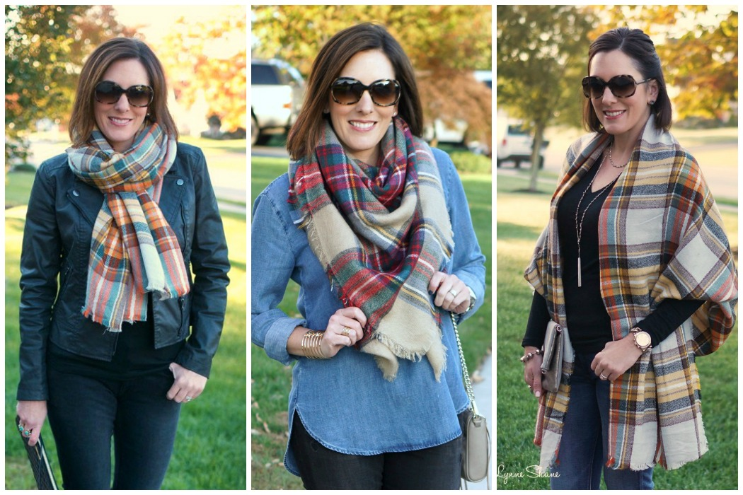 3 Easy Ways To Tie A Blanket Scarf Jo Lynne Shane