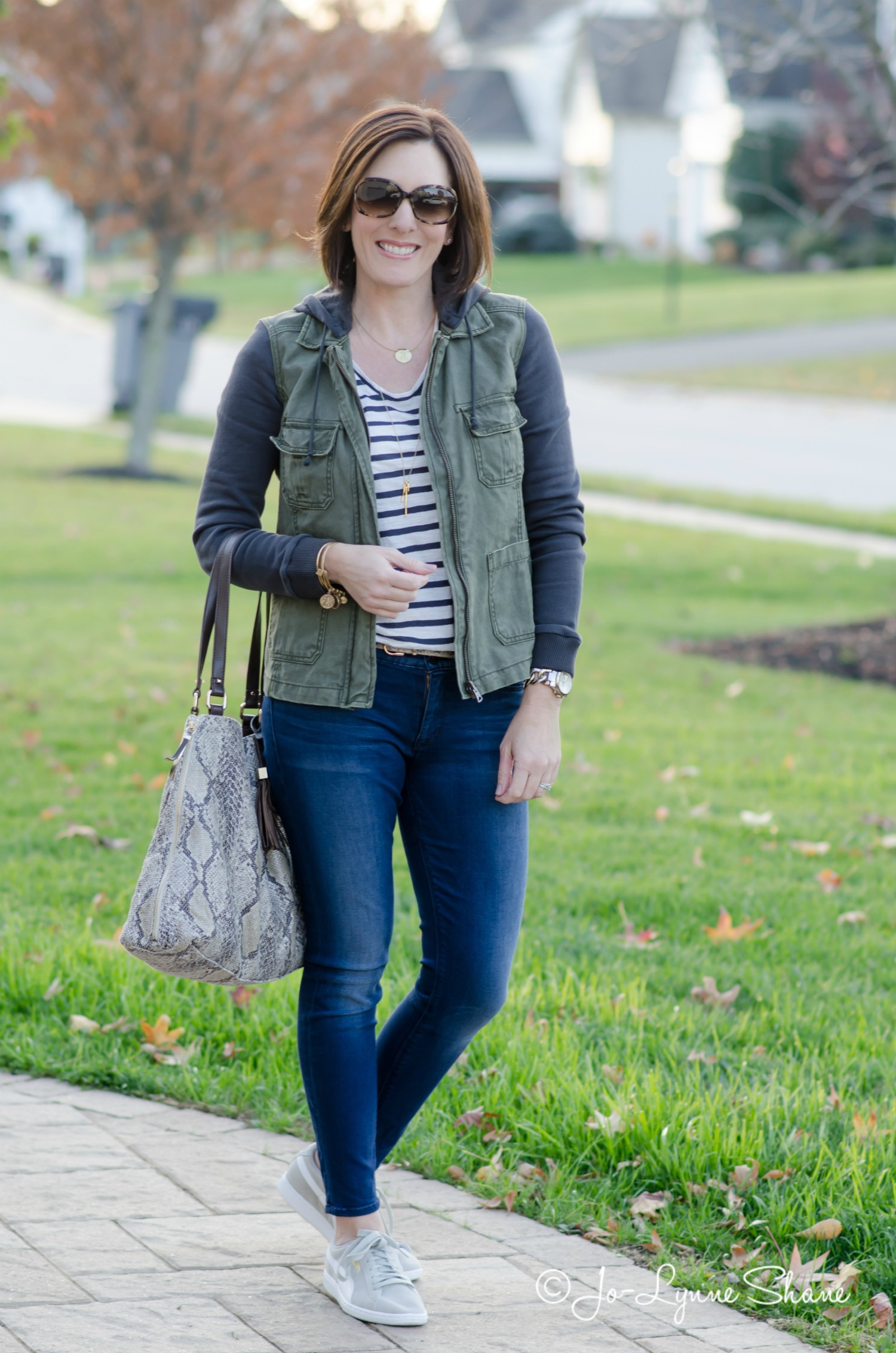 Fashion Over 40: Cold Weather Travel Outfit