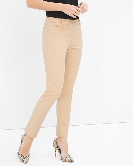 LOVING ankle-length pants and jeans this Spring! Spring 2016 Fashion Trends | Fashion for Women over 40 | WHBM slim ankle pants