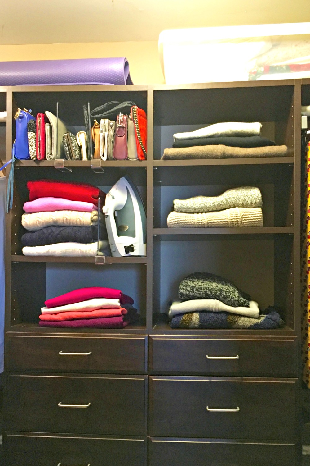 sweater shelves