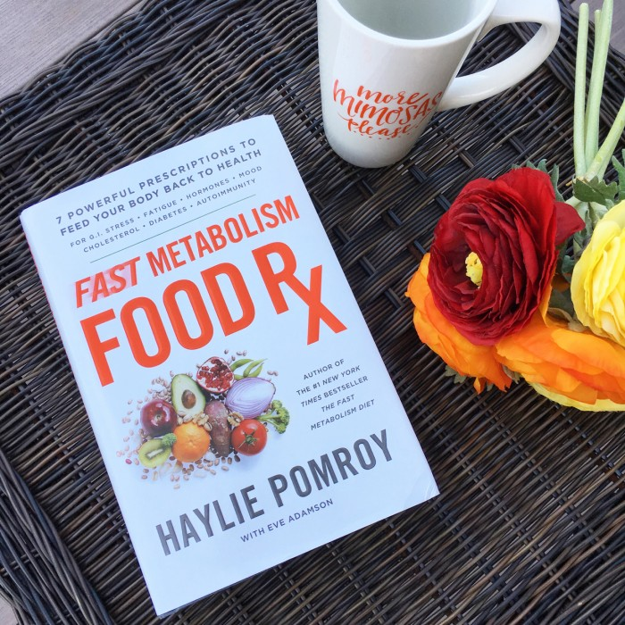 Anyone can achieve the healthy body they want from the foods they choose and use. Find out how with #FastMetabolismFoodRx!