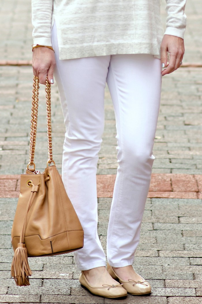 What I Wore: White Neutrals with DL1961 Florence in Milk