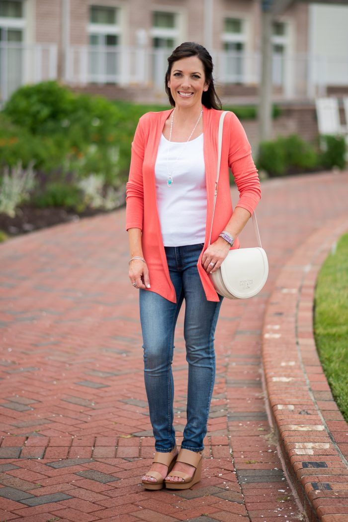 This is the perfect outfit for cool summer evenings or a highly air-conditioned venue. Also, click through for a $200 Stitch Fix Giveaway!