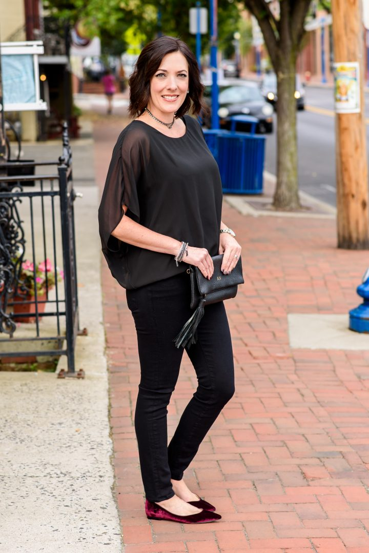 Fall Fashion: All Black Outfit featuring Bloomingdales 100% Exclusives