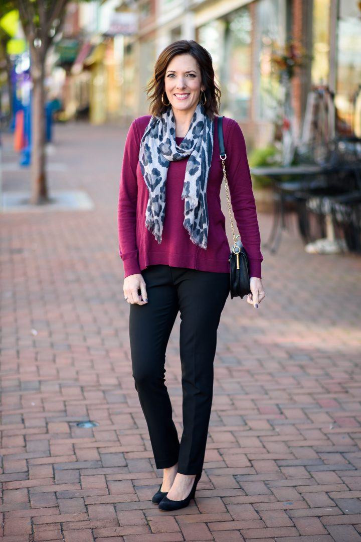 Fall Work Wear Outfit for Women Over 40
