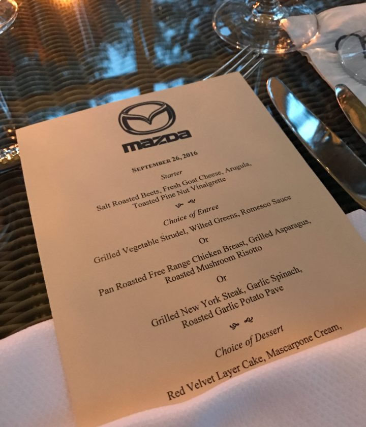 Dinner Menu at River House Lounge, Montage Palmetto Bluff Review