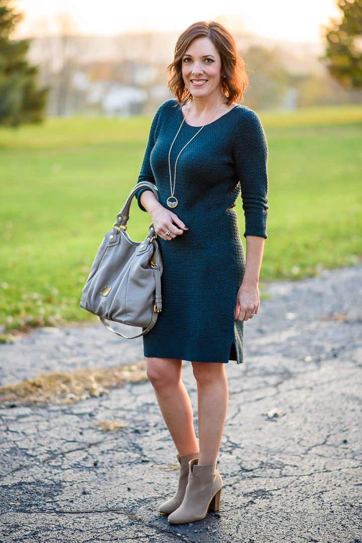 Must Have Sweater Dress for Fall - only $39!