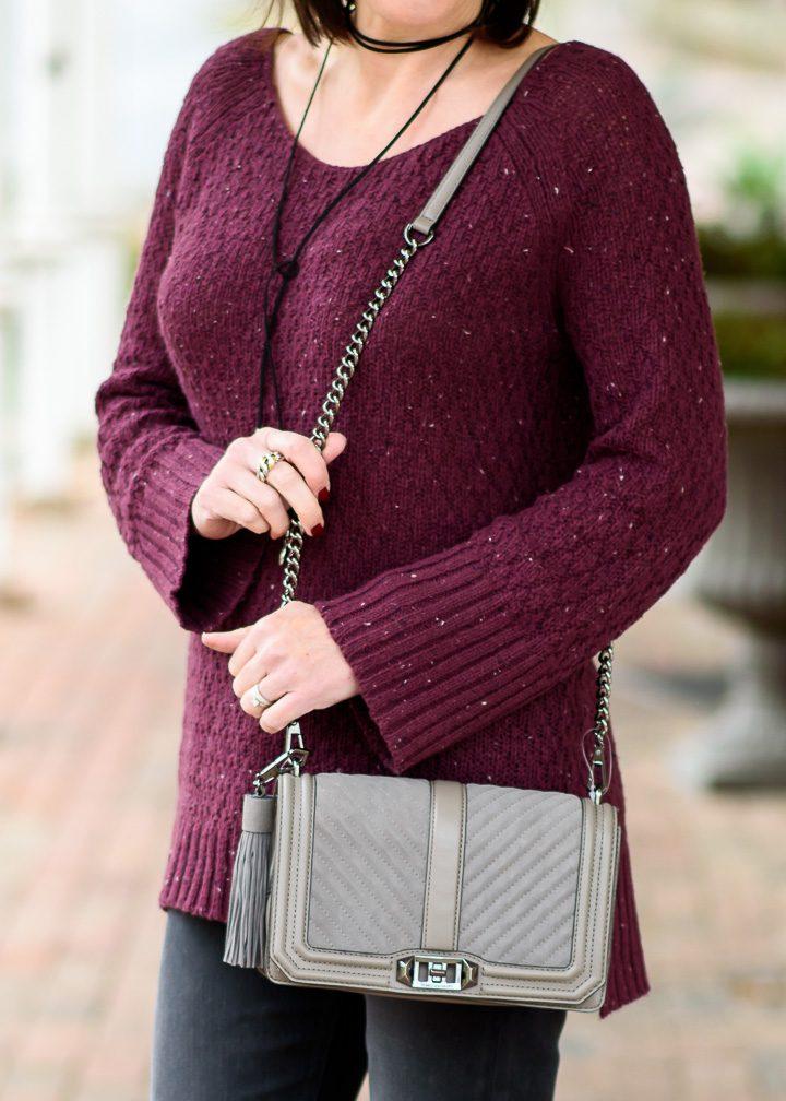 Holiday Gift Ideas: Rebecca Minkoff Love Crossbody with Tassel