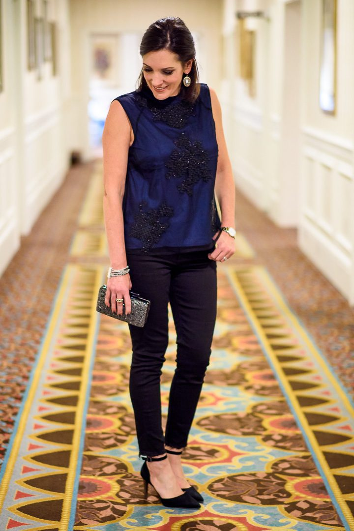 New Year's Eve Outfit with Lucky Brand